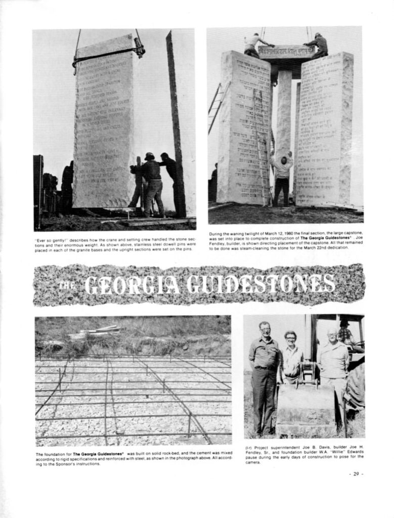 the georgia guidestones 1981 page 29 ever so gently